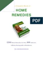 Home Remedies 36