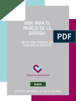 GUÍA PARA EL MANEJO DE LA DISFAGIA