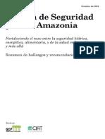 Agenda de Seguridad Para La Amazonia