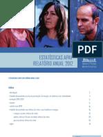 Estatisticas APAV Totais Nacionais 2012