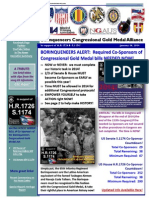 Borinqueneers Congressional Gold Medal Alliance 1-30-2014 Update