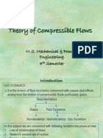 Theory of Compressible Flows- Chapter 1