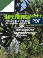 Diferencias climáticas entre las regiones tradicionalmente productoras de olivo (olea europaea l.) En el mundo y el alto Ricaurte en Colombia