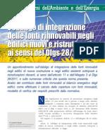 Quaderni Legislazione Tecnica 2012 4 Obbligo Integrazione Fonti Rinnovabili