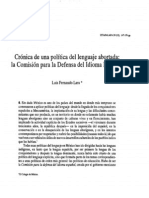 Cronica Deun a Politica Abort Ada