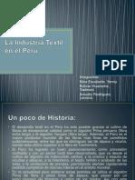 La Industria Textil en el Perú