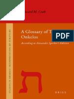 A Glossary of Targum Onkelos