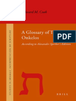A Glossary of Targum Onkelos
