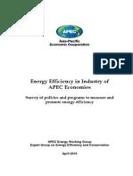 Apec Energy Efficiency Report 2010