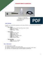 EP 600 Calibration Procedure