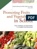 Phlc Policy School Food