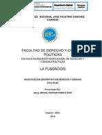 INVESTIGACIÓN DESCRIPTIVA EN DERECHO Y CIENCIAS POLÍTICAS