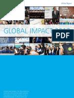 Deloitte 2013 Global Impact