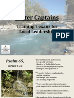 2014 UMW Water Captains Presentation