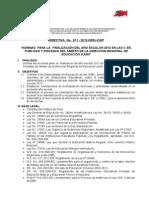 _Directiva N°011-2012-DREJ-DGP y formatos para finalización del año escolar