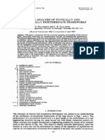 Pellegrino Calladine 1985 Matrix Analysis of Statically and Kinetically Indeterminate Frameworks