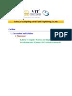 BTech (CSE) Curriculum 2012-2013
