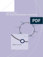 Key Good Governance Practices