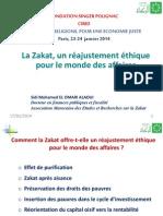 Sidi Mohamed El Omari Alaoui - La Zakat, un réajustement éthique pour le monde des affaires