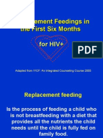 HIV and Infant Feeding