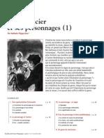 Le Romancier Et Son Personnage - Dossier