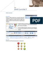 Microsoft Word Lección 5