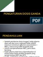 11 Pengaturan Dosis Ganda