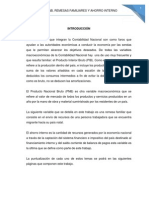 Pib, Pnb, Remesas Familiares y Ahorro Interno