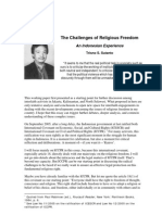 The Challenges of Religious Freedom in Indonesia