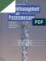 Projektmanagement und Prozessmessung - Inhaltsverzeichnis