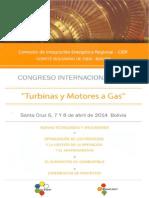 Congreso Turbinas y Motores a Gas