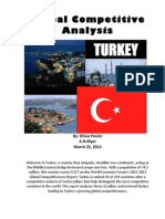 Global Competitive Analysis of Turkey