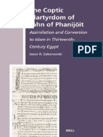 Jason R. Zaborowski-The Coptic Martyrdom of John of Phanijoit_ Assimilation and Conversion to Islam in Thirteenth-Century Egypt (the History of Christan-Muslim Relations)-Brill Academic Publishers (20