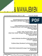 JURNAL Bisnis Dan Manajemen (JBM)