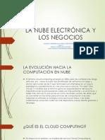 LA NUBE ELECTRÓNICA Y LOS NEGOCIOS