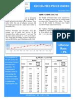 Consumer Price Index - Dec 13