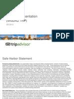 TRIP 3Q13 Investor Presentation