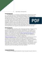 case study-development
