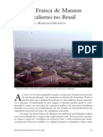 Zona Franca de Manaus e o Capitalismo