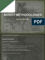 Deleuze Affect Methodologies