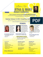 Martha & Mary Women's Conference