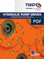 Hydraulic Pump Drives Catalog