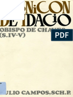 Idacio de Chaves - Cronicon OCR