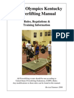 Powerlifting Manual