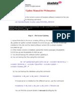 Version 9 Manuals Installation Update Upgrade SkaDate 9 Update Manual for Webmasters