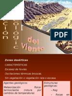 modelado de zonas desérticas