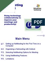 NetMeeting Tutorial