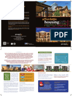 Affordable Housing in Glendale Brochure