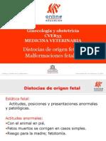012- Distocias de Origen Fetal y Malformaciones Fetales[1]