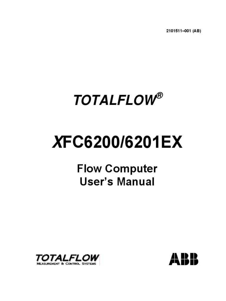 totalflow abb xfc6200